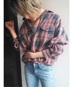 ヴィンテージチェックシャツ