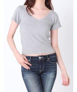 BACKレースアップTシャツ