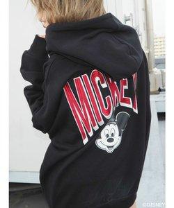 Mickey Back Graphic BIGパーカー