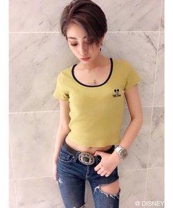 リンガーテレコショートTシャツ / MICKEY MOUSE