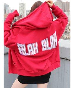 BLAHBLAH ZIP UPスウェットパーカー