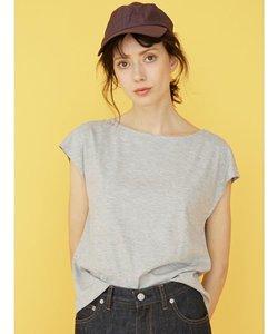 マルチエフェクトバックシャンフレンチ袖Tシャツ