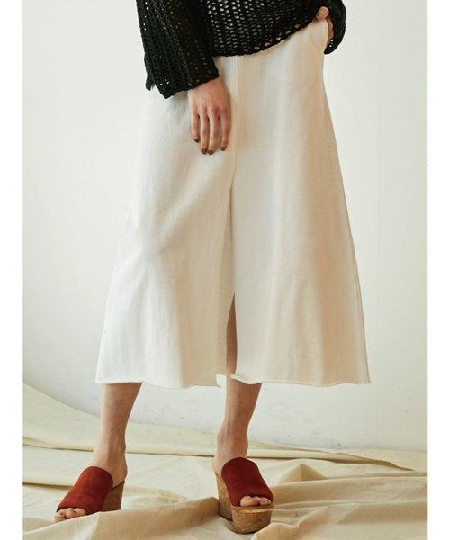 スリットロングスカート