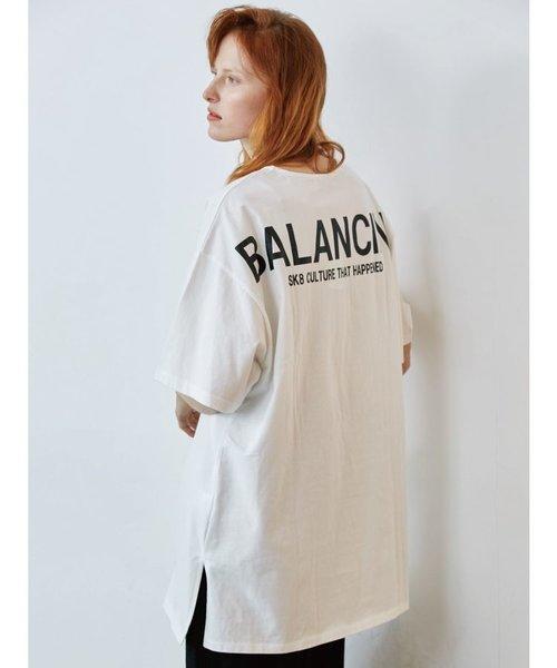 サイドスリットBALANCING Tシャツ