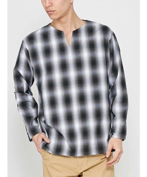 パナマキーネックシャツ