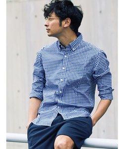 ギンガムチェックBDシャツ