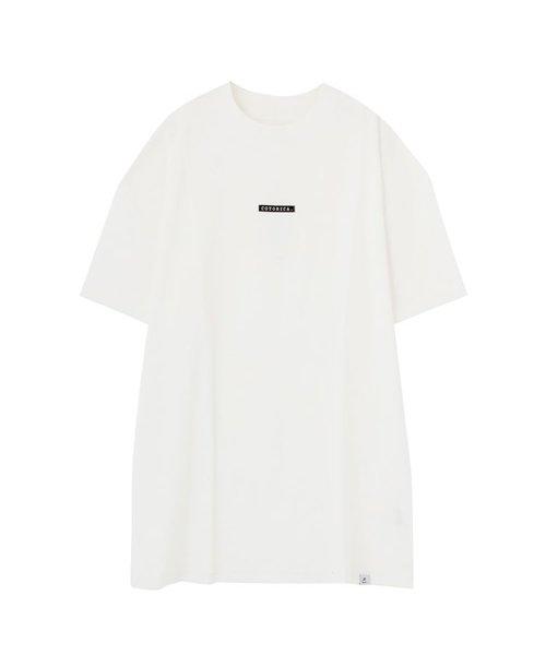ボックスロゴハイネックTシャツ