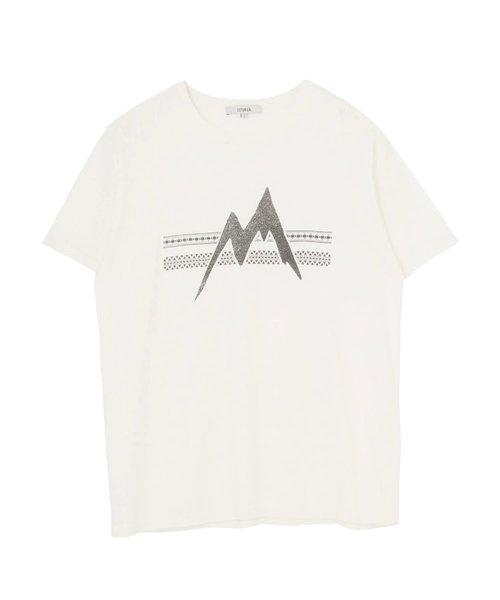 MountainプリントTシャツ