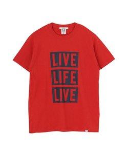 LIVEプリントTシャツ