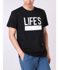 LIFEプリントTシャツ
