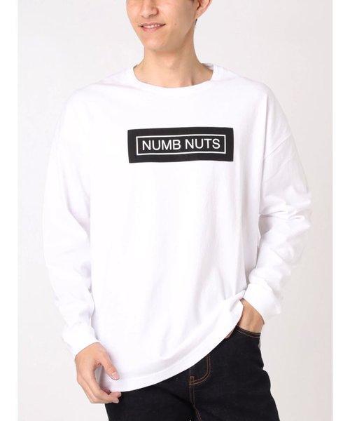 NUMB NUTS ドロップショルダーロンT