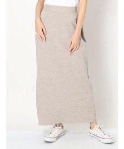 サイドリブニットスカート