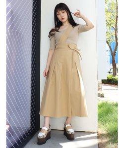 【WEB限定】ワンショルフレアスカート