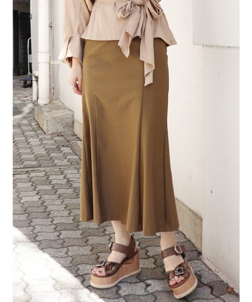 ロングマーメイドスカート