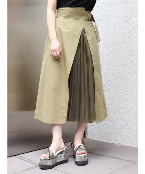 ワイドベルトドッキングスカート