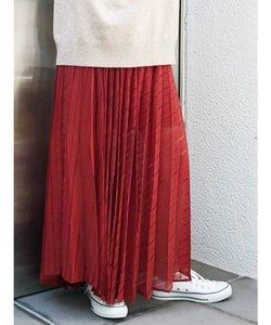 セパレートシアープリーツスカート