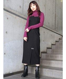 リングストラップタイトジャンパースカート