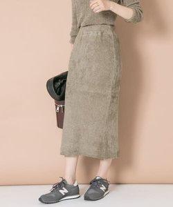 ベルベットニットスカート