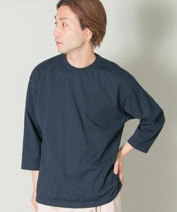 japanmade half-sleeve crew-neck