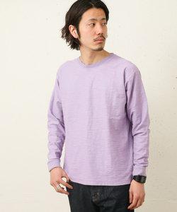 USAコットンスラブロングTシャツ