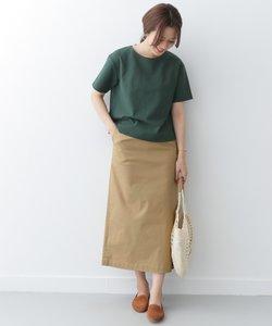 Iラインストレッチロングスカート