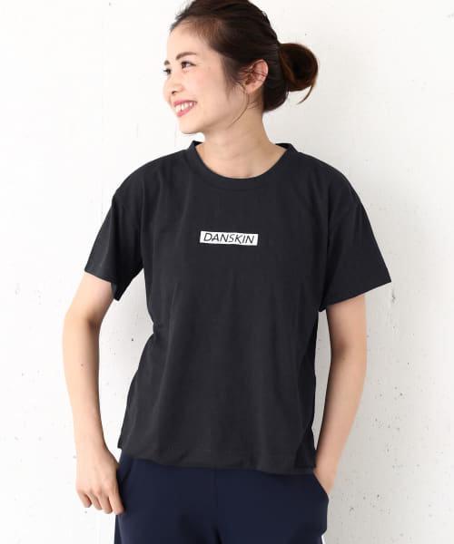 DANSKIN 別注ロゴクルーネックTシャツ