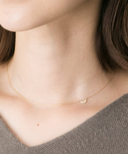 Favorible gold plate necklace