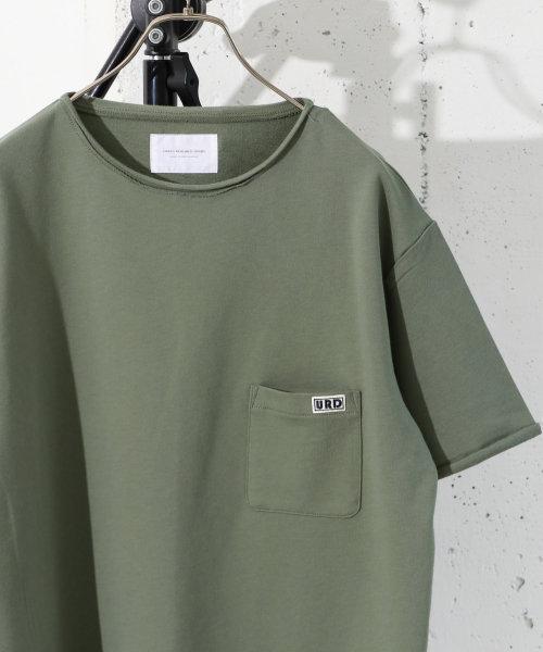 ミニ裏毛ワッペンTシャツ