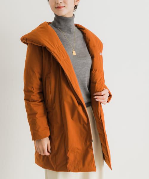 YOSOOU Shawl Back Gather Coat