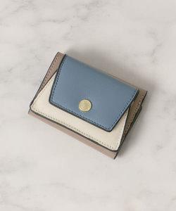 バイカラープチ3つ折り財布