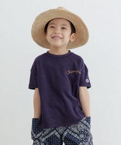 Champion×DOORS パイル刺繍T-SHIRTS(KIDS)
