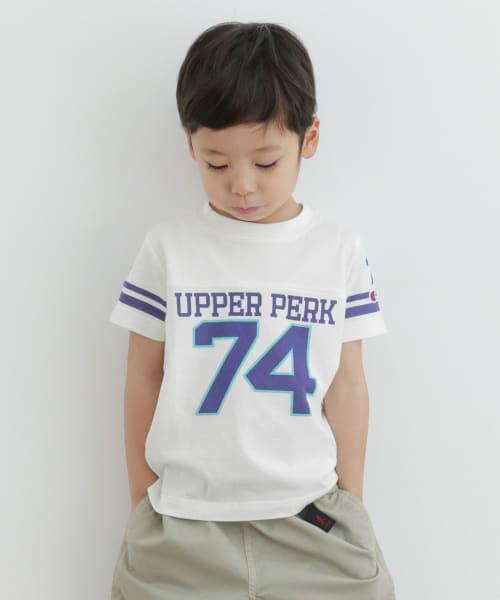 Champion×DOORS フットボールTシャツ(KIDS)