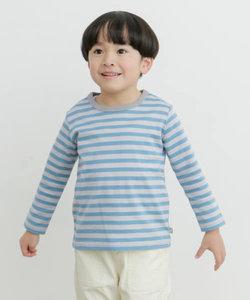 オーガニックボーダーロングTシャツ(KIDS)