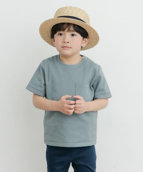 【WEB/一部店舗限定サイズ】ポンチポケットTシャツ(KIDS)