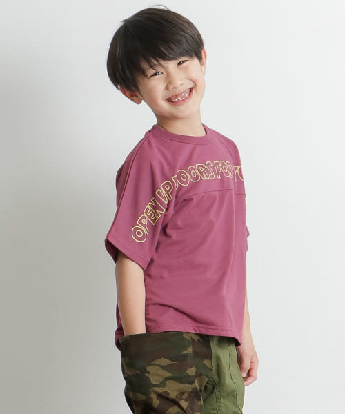 【別注】highking×DOORS 速乾メッシュTシャツ(KIDS)