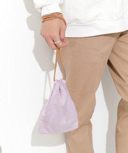 エコスエード巾着バッグ