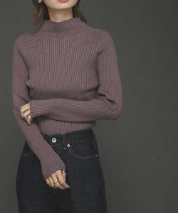 ストレッチリブハイネックセーター