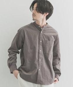 URTECH コーデュロイバンドカラーシャツ