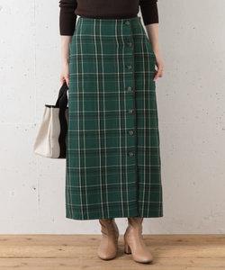 【WEB限定】チェックリバーシブルスカート