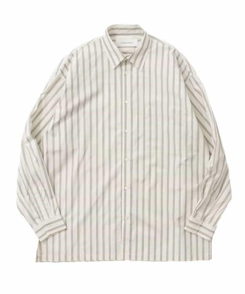 GOODBETTERBEST ストライプシャツ