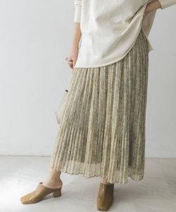 フェードペイズリープリーツスカート