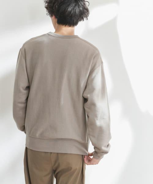 FORK&SPOON シームポイント裏毛プルオーバー