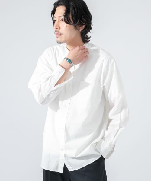 ブロードバンドカラーワイドシャツ