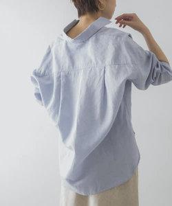 UR TECH(UVカット・接触冷感・吸水速乾)+抗菌 機能付 高機能リネンオーバーシャツ