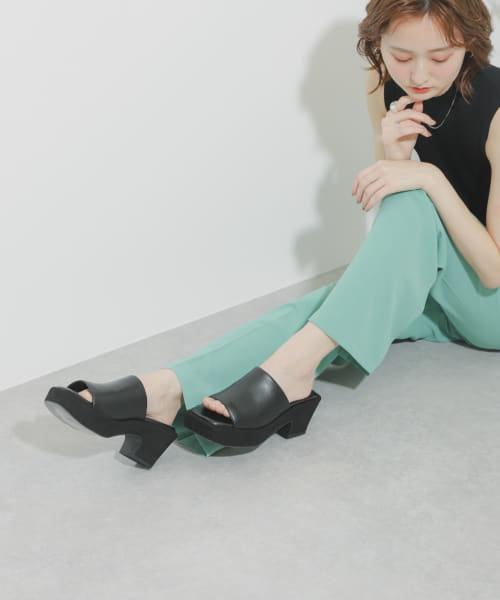 【Sサイズ/WEB・一部店舗限定】クッションソールサボサンダル