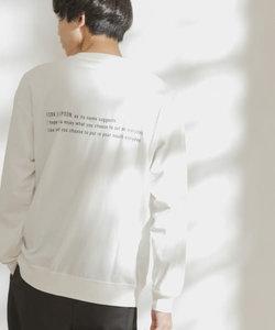 FORK&SPOON オーガニックコットンバックプリントTシャツ