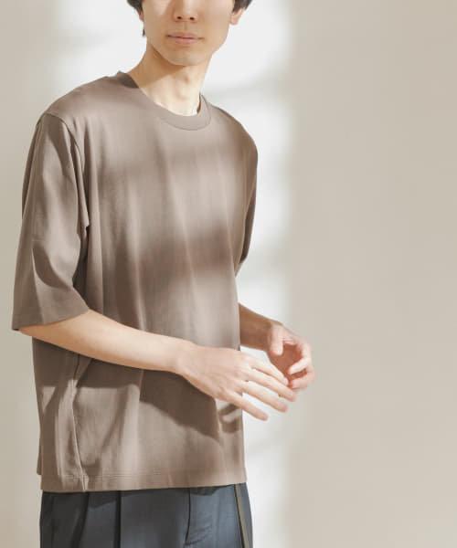 FORK&SPOON オーガニックコットン5分袖Tシャツ