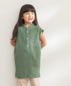FORK&SPOON ノースリーブロングシャツ(KIDS)