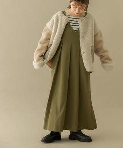 【一部WEB限定カラー】BIGプリーツジャンパースカート