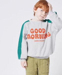 【WEB限定】BOBO CHOSES Good Morning sweatshirt(KIDS)